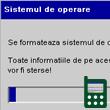 Se formateaza sistemul de operare! Toate informatiile de pe acest telefon vor fi sterse! Era doar o gluma.
